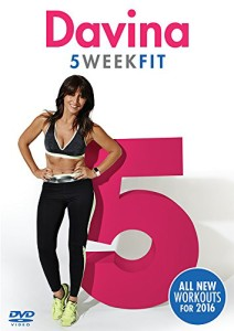 Davina 5 Week Fit Workout DVD 2016
