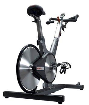 Keiser M3 Plus Indoor Cycle From Behind