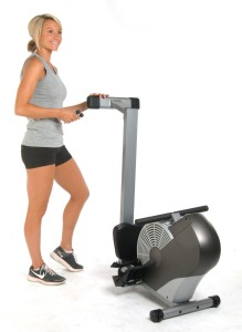 Stamina Air Rower Folded Away