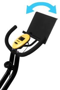 LCD DIsplay And iPad Holder On Merax Upright Bike
