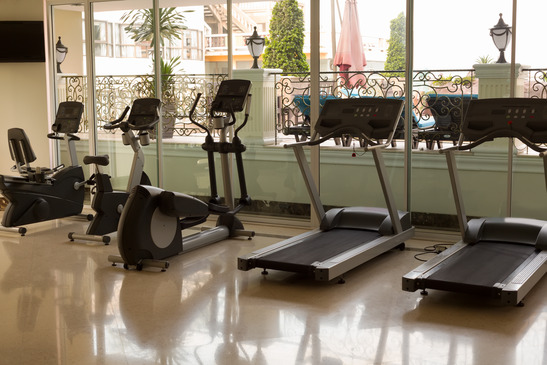 An Example Of A Hotel Gym