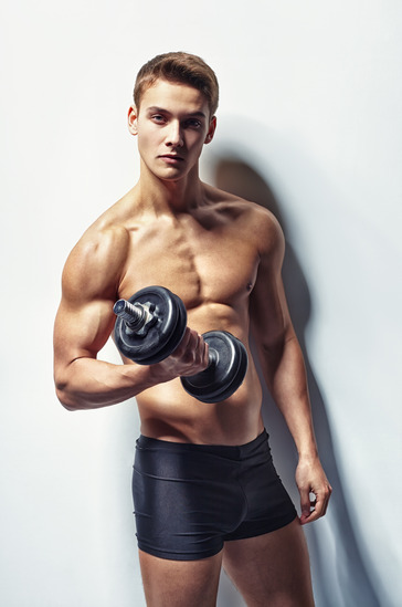 Attractive Young Bodybuilder