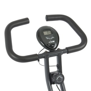 Handlebars And LCD Display From Alpine Folding Bike