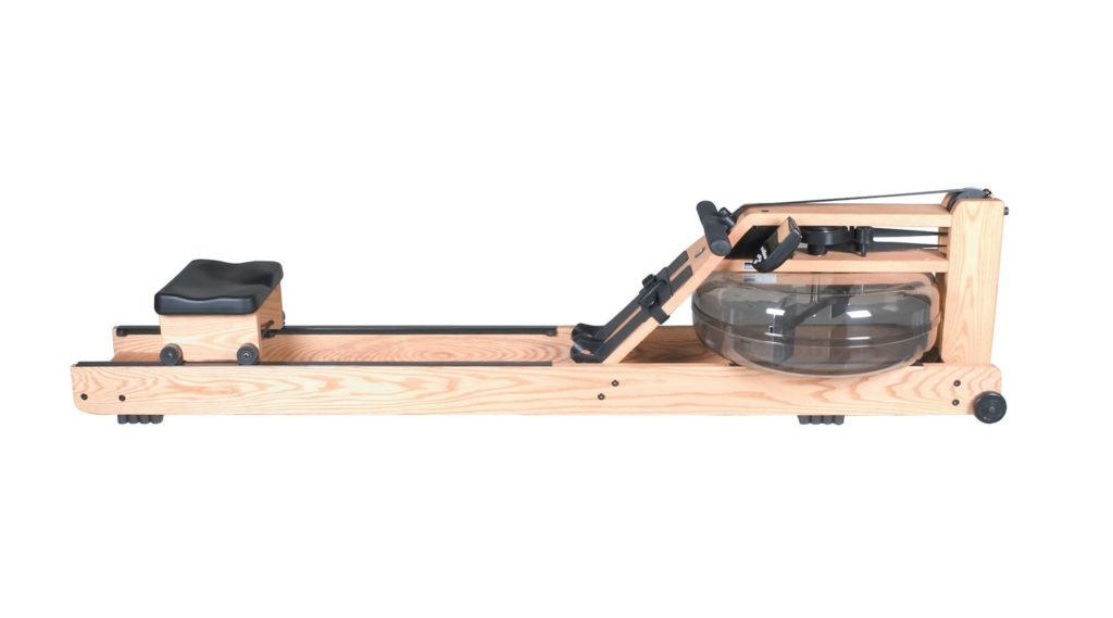 Side View Of Natural Rowing Machine