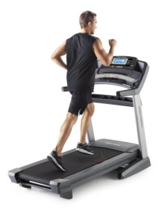Man Running On ProForm 2000 Treadmill