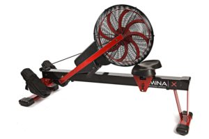 Stamina X Air Rower Folded Away