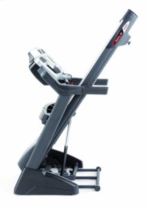 F85 Treadmill Folded Away