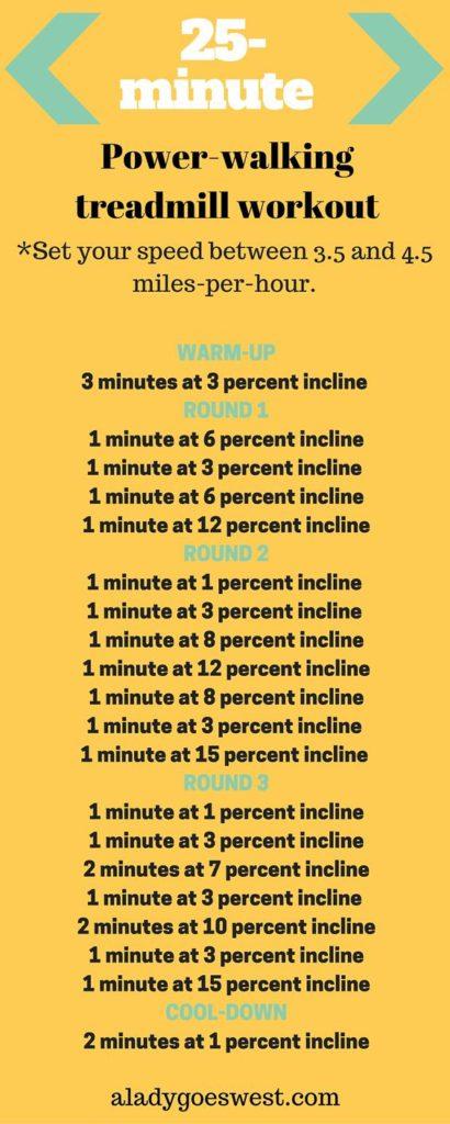 25-Minute Powerwalking Workout