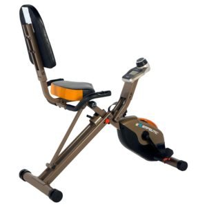 Exerpeutic Gold 525XLR Folding Recumbent Exercise Bike