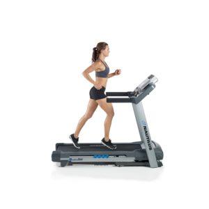 Woman Running On Nautilus T614 Treadmill