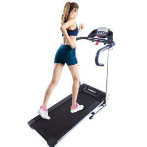 Tomshoo 500W Folding Motorized Treadmill