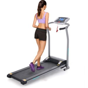 ANCHEER S8400 Electric Treadmill $199 online deal