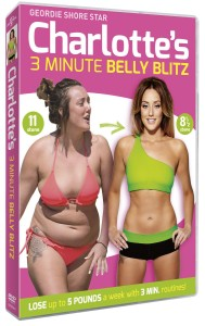 Charlotte Crosby's 3 Minute Belly Blitz DVD Cover