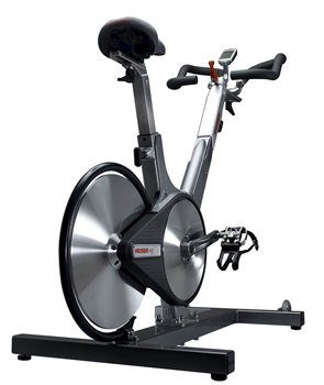 Keiser M3 Plus Indoor Cycle From Behind