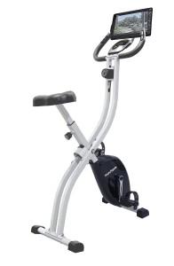 Innova Fitness Folding Upright Bike with Tablet Holder