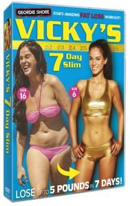 Vicky Pattison 7 Day Slim DVD