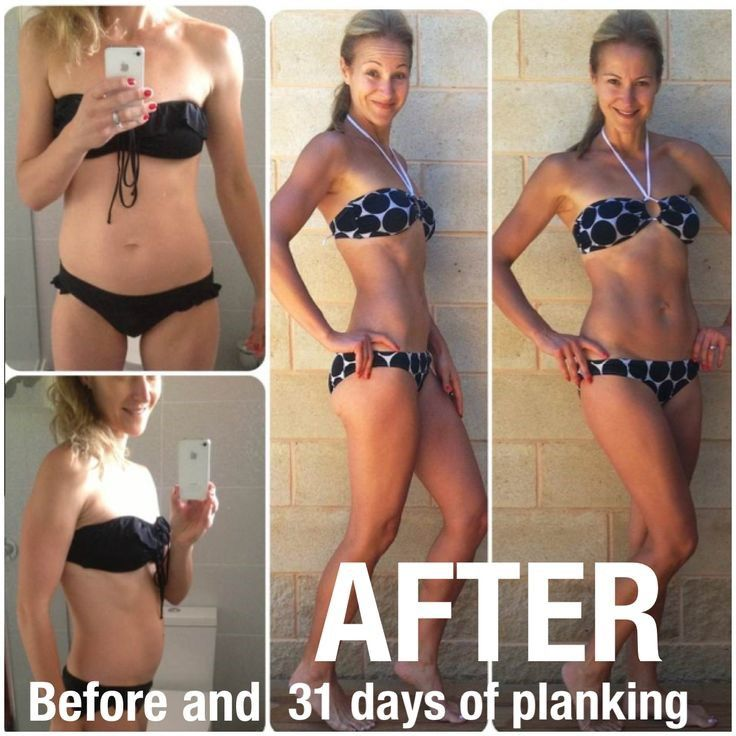 31 Day Planking Before And After Photos