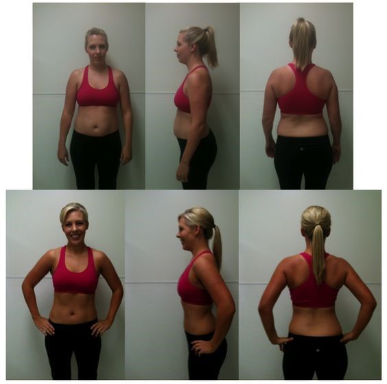 Jennifer Holmes Before And After Plank Challenge