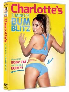 Charlotte's 3 Minute Bum Blitz DVD