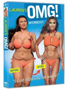 Lauren's OMG! Workout DVD