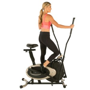 Exerpeutic Gold Elliptical With Integrated Exercise Bike