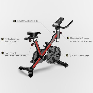 Features Of Fitleader FS1 Exercise Bike