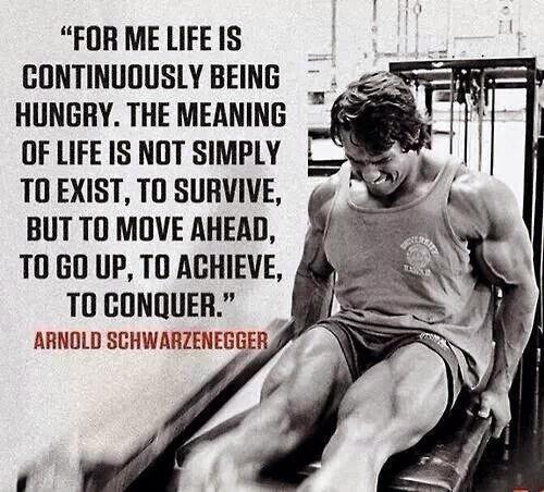 Famous Arnold Schwarzenegger Quote