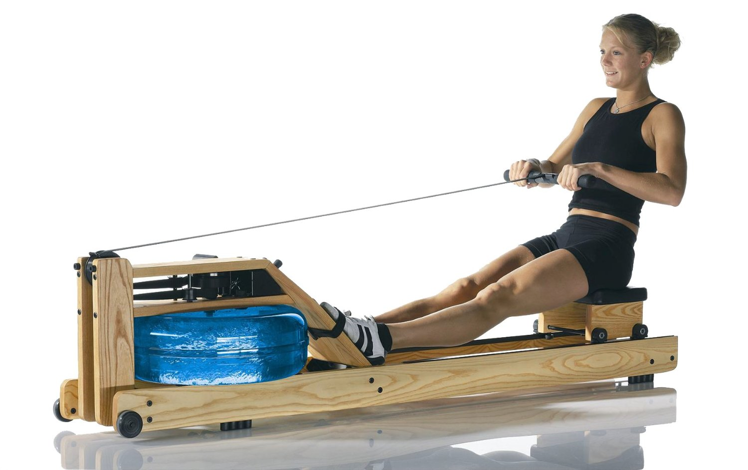 waterrower natural rowing machine review. Black Bedroom Furniture Sets. Home Design Ideas