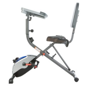 Side View Of Exerpeutic 1000 Desk Station Bike