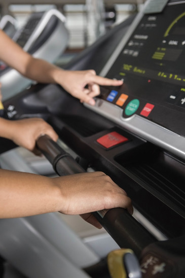 Treadmill Speed And Incline Controls