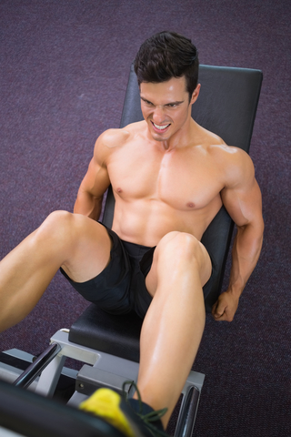 An Intense Leg Workout