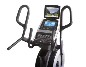 Console And Handlebars From Cardio HIIT Elliptical