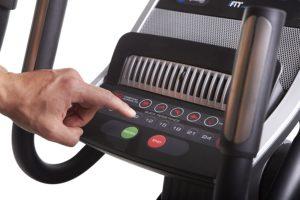 ProForm Cardio HIIT Controls