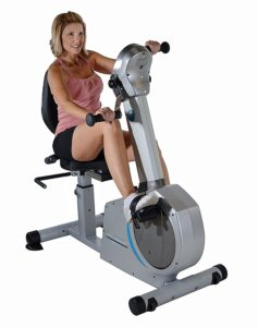Front View Of Stamina Elite Total Body Bike