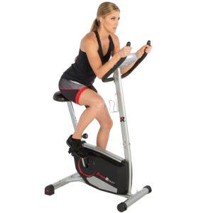 Woman Using Fitness Reality 210 Bike