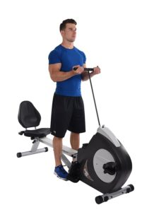 Strength Training On The Conversion II Recumbent And Rower