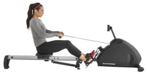 Side View Of Crewmaster Rowing Machine