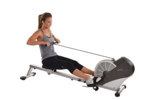 Woman Using Stamina ATS Air Rower 1399